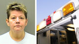 Paramedic Lisa Darlene Glaze, 50, is accused of cutting a diamond ring off the finger of a dead patient Oct. 16, 2019, in Hot Springs, Arkansas, and selling it to a pawnshop.