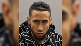 Authorities charged Benny Garcia, 29, of Holyoke, with drug possession and reckless endangerment after an H.B. Lawrence Elementary School kindergarten teacher saw the 5-year-old with the bag Thursday morning.