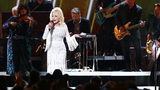 Dolly Parton performs onstage during the 53rd annual CMA Awards at the Bridgestone Arena on November 13, 2019 in Nashville, Tennessee. Parton has issued the #JoleneChallenge in advance of her new television show.