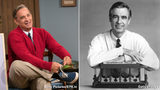"Ancestry.com says Tom Hanks (left) is a relative of Fred Rogers (right). Hanks portrays Rogers in the upcoming film ""A Beautiful Day in the Neighborhood."""