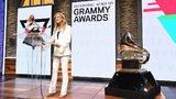 Recording Academy president and CEO Deborah Dugan speaks at the 62nd Grammy Awards Nominations at CBS Broadcast Center on November 20, 2019 in New York City.