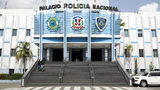 """The National Police Palace in Santo Domingo, Dominican Republic, is pictured in June 2019. The Caribbean nation's town of Cabarete is where American teacher Patricia """"Patty"""" Anton, 63, was found slain in her apartment Nov. 12, 2019."""