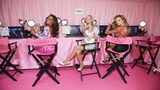 Jasmine Tookes, Elsa Hosk and Josephine Skriver attend as VS Angels celebrate the Dec. 2, 2018, Victoria's Secret Fashion Show at the new VIP Runway Experience located in the NYC Fifth Avenue flagship store on Nov. 29, 2018, in New York City.