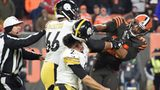 Brawl erupts in last seconds of Browns win over Steelers