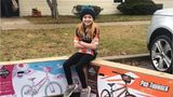 9-year-old girl donates 130 bikes to Bikes for Tikes campaign