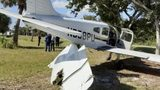 There were no injuries after a single-engine plane crashed Monday afternoon in Vero Beach, Florida.