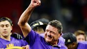Ed Orgeron and LSU are the No. 1 seed heading into the College Football Playoff semifinals.